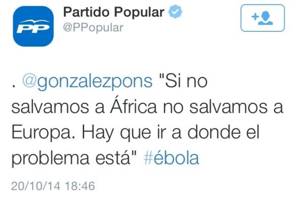 González Pons África