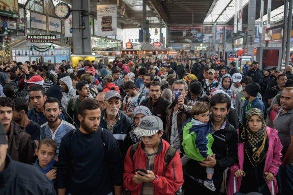 Crisis refugiados en Europa